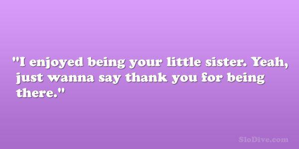 17 Best Little Sister Quotes On Pinterest