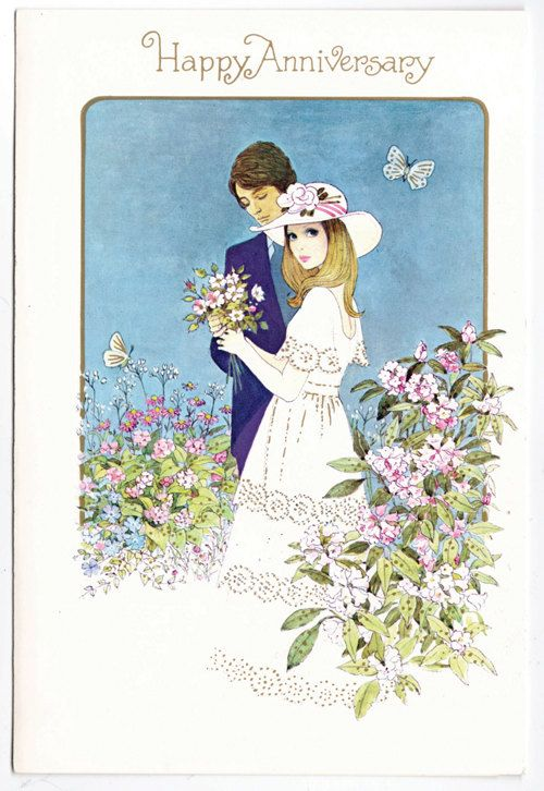 275 best cards anniversary images on pinterest happy birthday etsy transaction pink pussycat vintage belated happy birthday greeting card free us shipping anniversary greeting cardswedding m4hsunfo