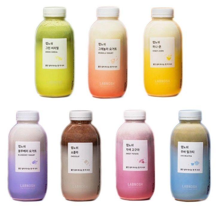 Labnosh Basic Kit 7 Bottles Astronaut Food Green Tea
