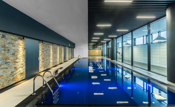 SKA Hockey Club Sports Complex Swimming Pool Interiors