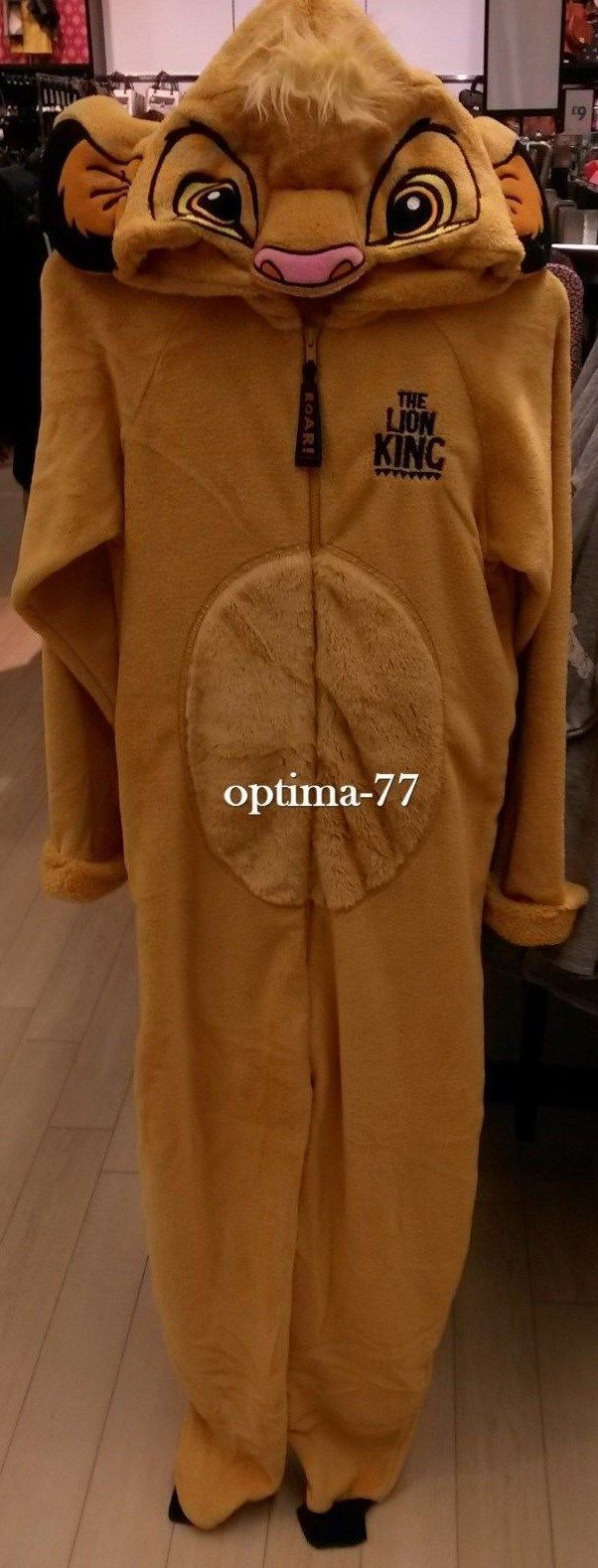 Ladies disney simba the lion king onesie #adult #all-in-one pyjamas #dressing up,  View more on the LINK: http://www.zeppy.io/product/gb/2/252586179911/