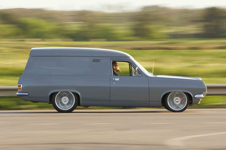 ◆ Visit MACHINE Shop Café... ◆ ~ Aussie Custom Cars & Bikes ~ (The 1967 HR Holden Panel Van)