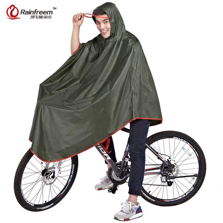 Rainfreem Impermeable Raincoat Women&Men Thick Bicycle Rainwear Poncho Rain Coat Women Waterproof Rainwear Rain Gear Poncho-in Raincoats from Home & Garden on Aliexpress.com | Alibaba Group