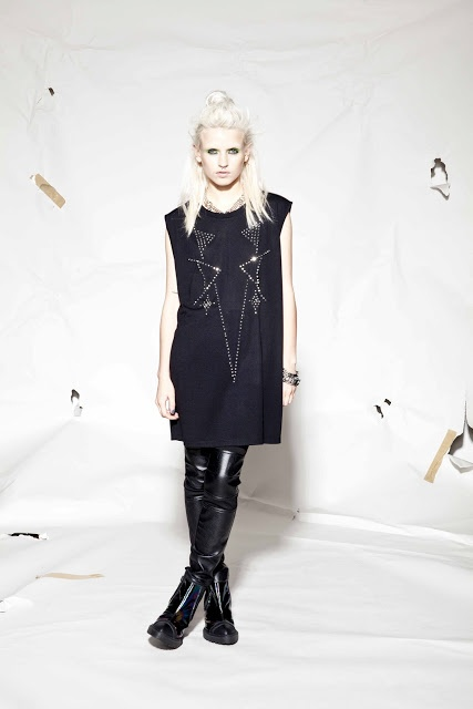 Evil Twin Rise Against Studded Tunic