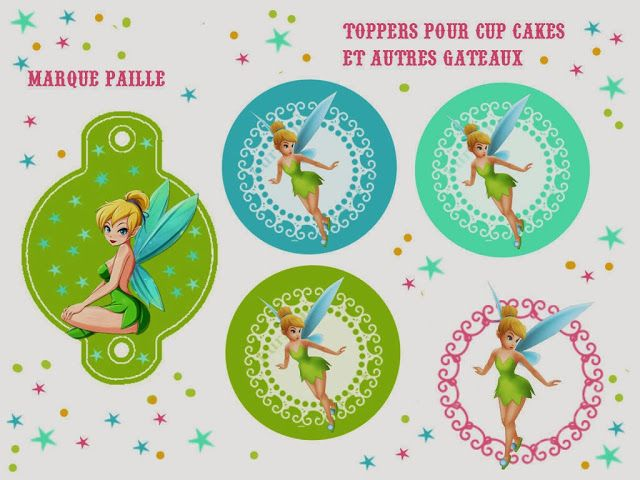 Tinkerbell Free Printable Party Kit.