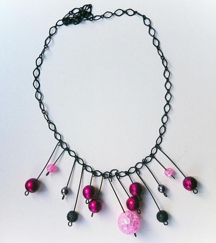 Kumihimo necklace. Made by UstriZeny:Retuseva