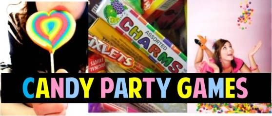Candy Birthday Party DIY Ideas and Theme Games