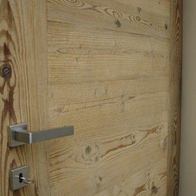Porte in legno vecchio prima patina