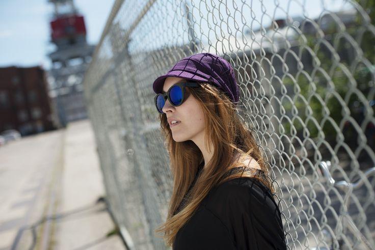 Purple Nisa Hat photographed by Kai Kuusisto for COSTO