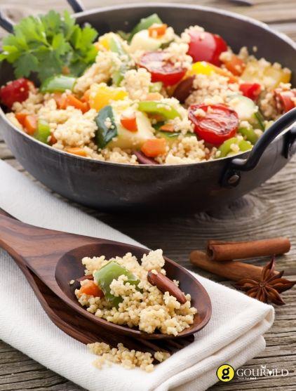 Σαλάτα με πλιγούρι και φρέσκα λαχανικά - gourmed.gr