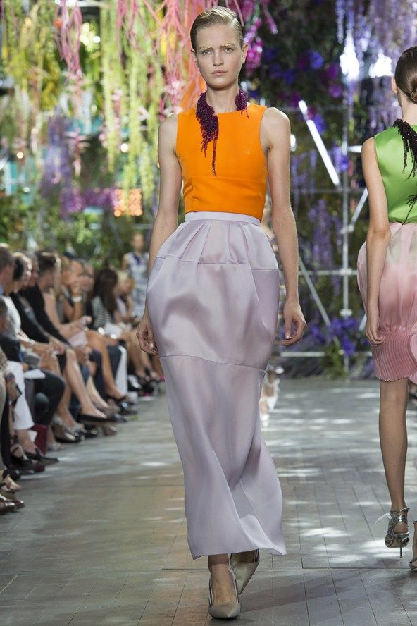 Christian Dior SS14.: Dior Spring, Ss2014, Christian Dior 2014, Fashion Week, Spring Summer, Spring 2014, Bold Colors, Bright Colors, Ss 2014