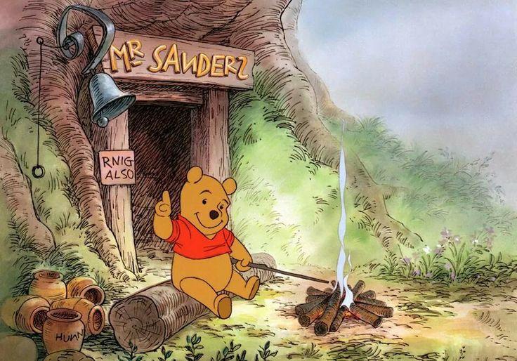 Winnie The Pooh Mr Sanders