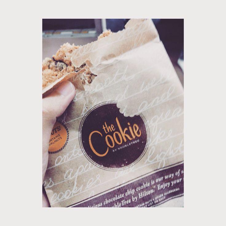 🍪🍪 #doubletree #cookie #dtcookie
