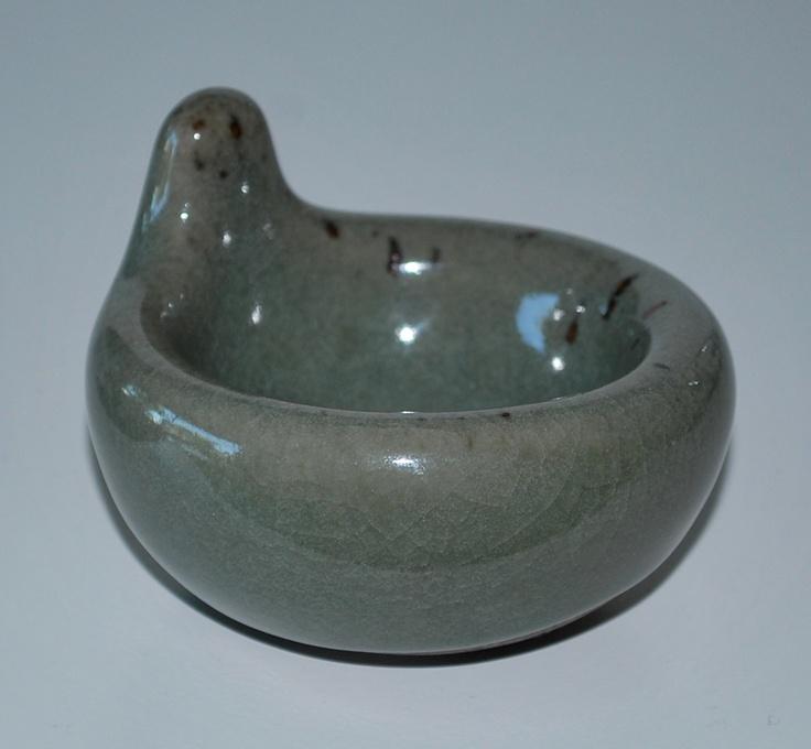 Alev Siesbye, stoneware with celedon, Royal Copenhagen, Denmark.