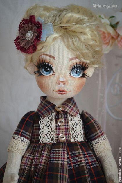 Muñecas de colección hechos a mano.  Masters Feria - hecho a mano.  Comprar Anfisa autor muñeca hecha a mano!.  Hecho a mano.  Vinoso