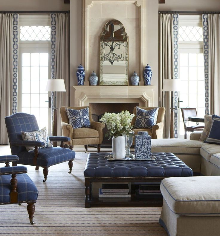 Best 19 Best Blue And Beige Living Rooms Images On Pinterest 400 x 300