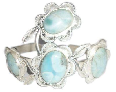 Larimar filigree Bracelet: Filigree Jewelry, Larimoon Filigree, Bracelets, Products, Larimar Filigree