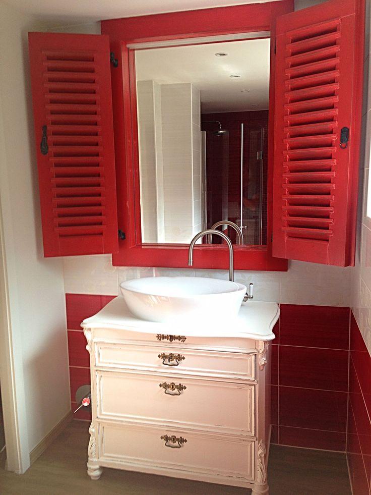 73 besten Badezimmer Bilder auf Pinterest Liebe, Wohnen und Euro - badezimmer landhaus