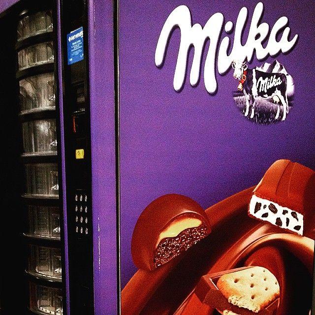 #Vending #Milka #Snack