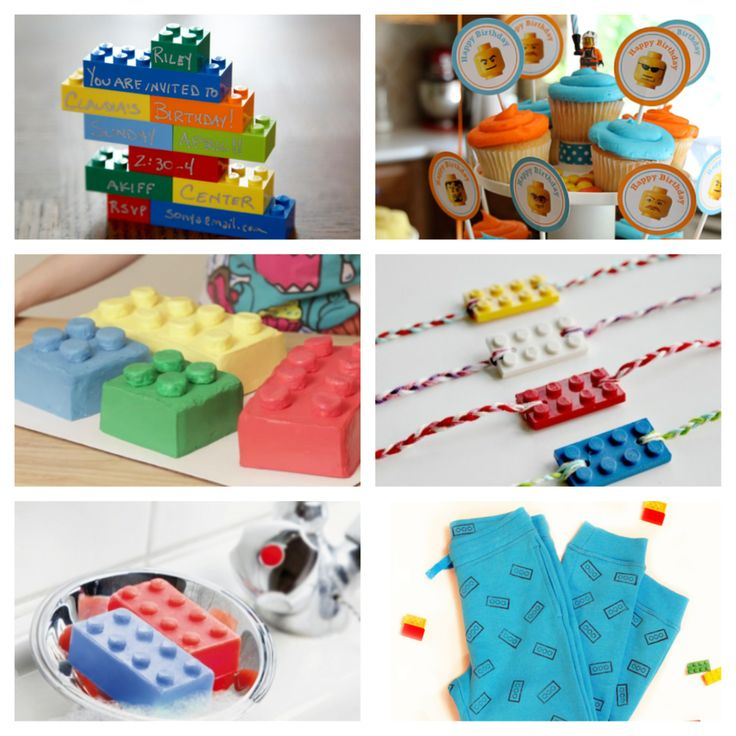 New blog post: Cute, easy and original ideas for your next Lego party! http://babyglitter.com/blog/ideas-lego-party/