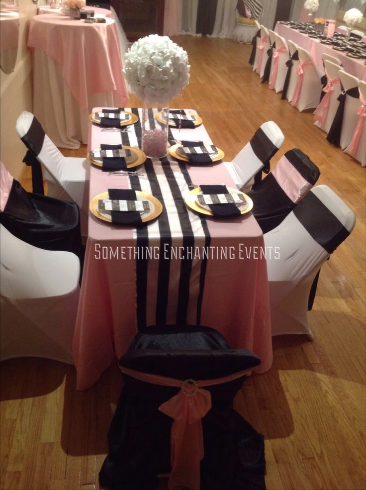 Table setting & 20 best Paris themed images on Pinterest | Paris Dusty pink and ...