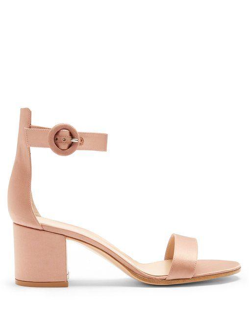 7b7172c9b3b3 Versilia 60 block-heel satin sandals