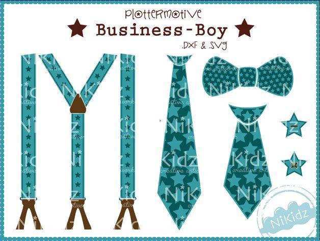 # zu kaufen #  BusinessBoy Plotterdatei #  NiKidz bei DaWanda