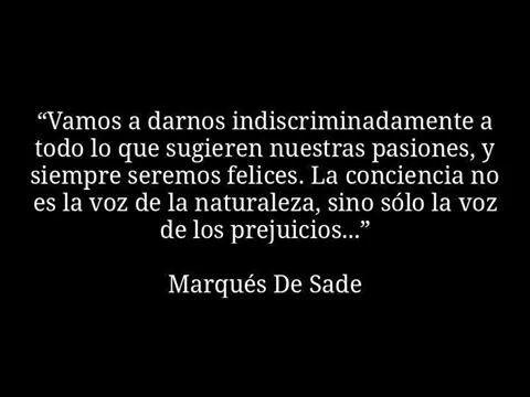 Marqués De Sade..!!