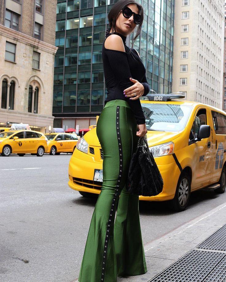 A bolsa do Birô em Nova York com a fashion influencer Diana Oliveria