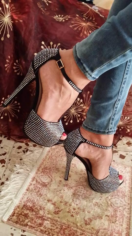 Fashion high heel #sandals