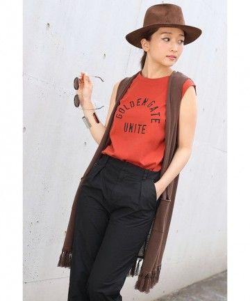 ヘビロテ間違いなしのメンズライクなロングベスト♪ギャル系タイプのコーデ♡参考にしたいスタイル・ファッション