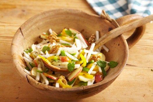 Apfel-Rettich-Salat