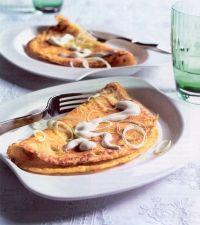 #Recept: Preipannenkoekjes met kerrie http://ift.tt/2ha63CV #Pannenkoeken-Flensjes-Wraps