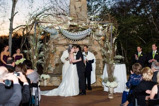 Stephanie Dans Interfaith Catholic Jewish Wedding Complete With An Officiant