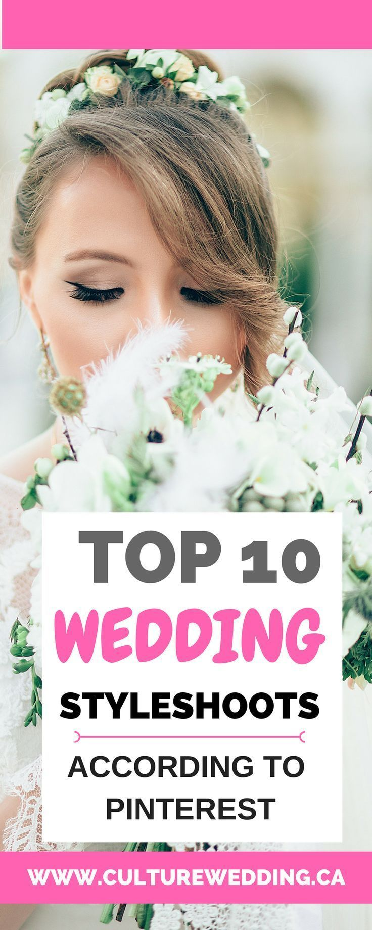 Top 10 wedding style shoot according to Pinterest, wedding ideas and inspiration for brides. Wedding dresses inspiration for the elegant bride Wedding invitation tips. #wedding #weddingideas #weddingtips Wedding planning tips. Wedding planning on a budget. How to plan a wedding.
