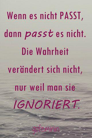 Wenn es nicht #PASST, dann passt es nicht...!!!