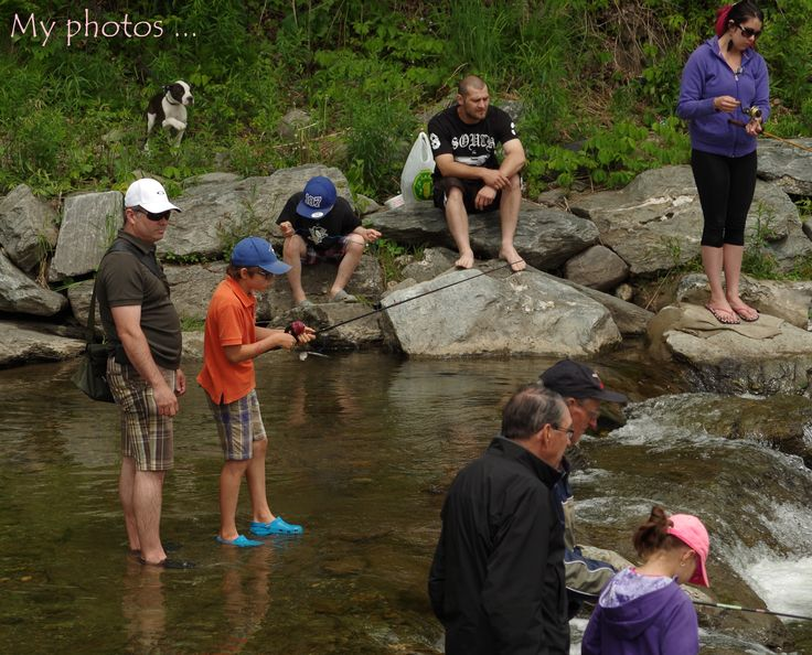 Pêche au parc municipal de Kinnearsmills