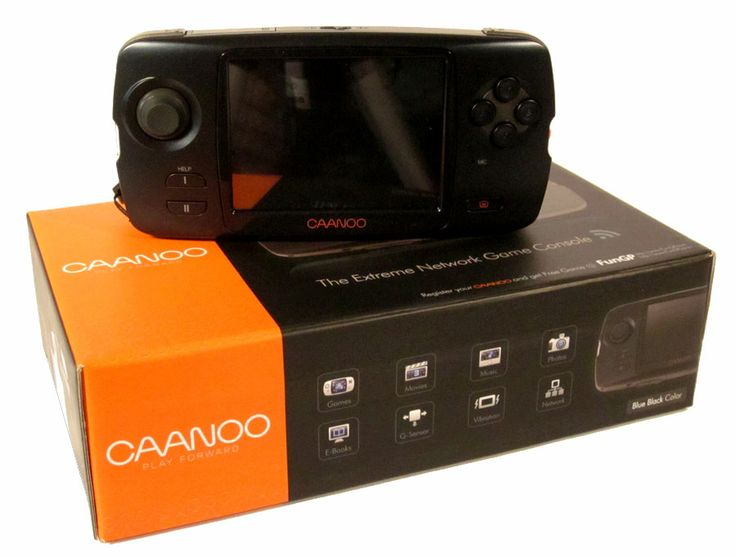 GPH #Caanoo emulates your arcade & console #ROMs via Linux from an SD card, up to 32GB
