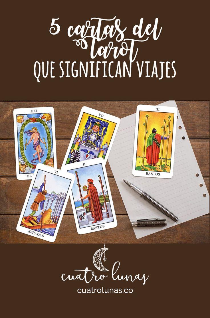Hay algunas cartas del Tarot que cuando salen se pueden asociar con la energía de los viajes.