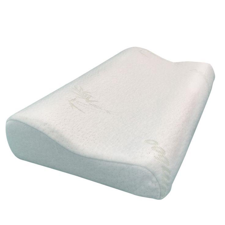 """Better Sleep Bamboo Hypoallergenic Memory Foam Contour Pillow (18"""" x 11.5"""" x 3"""")"""