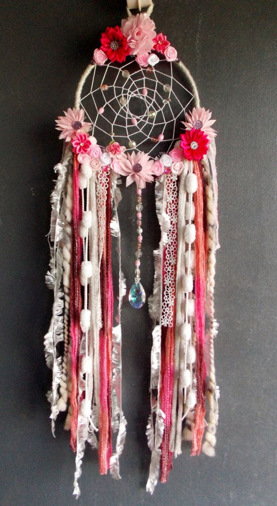 Dream Catcher Fantasy wall hanging by RavenshiresRealm on Etsy