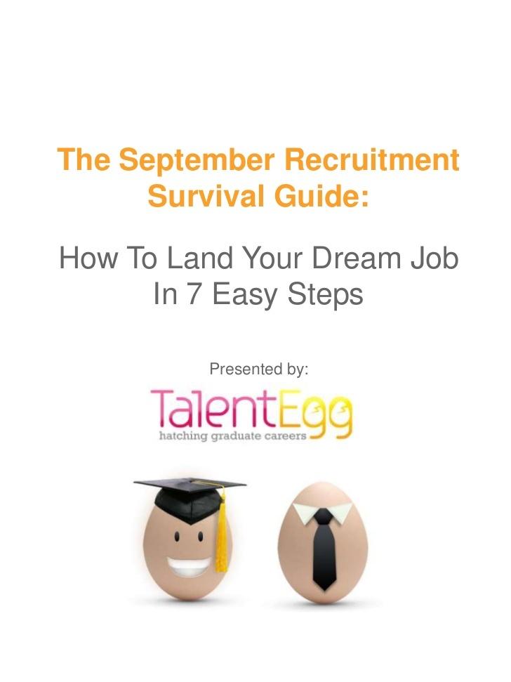 September Recruitment Survival Guide