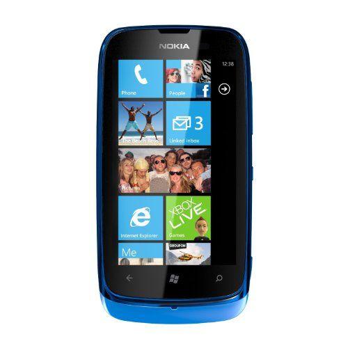 Nokia Lumia 610 Sim Free Mobile Phone - Cyan - http://www.computerlaptoprepairsyork.co.uk/mobile-phones/nokia-lumia-610-sim-free-mobile-phone-cyan