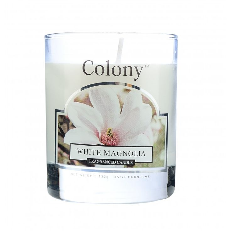 Wax Lyrical Colony white magnolia candle