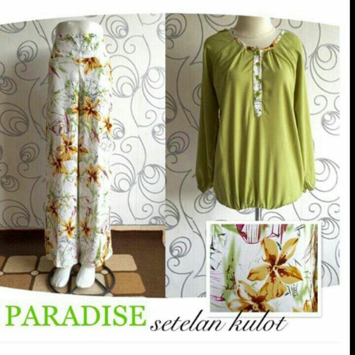 Set kulot Material: cotton batik Price: 150.000 rupiah Made in bali indonesia Order: what sapp 081237299261 #setelan #baju #batik #bali #madeinbali