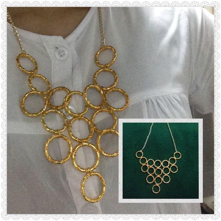 o-ring neklace #notd #diy