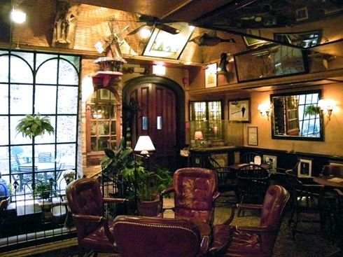 Bar Room At The Swan In Lambertville NJ As Seen American Public House