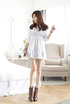 Buy Korean Fashion Style Tops at http://www.spicyavenue.com