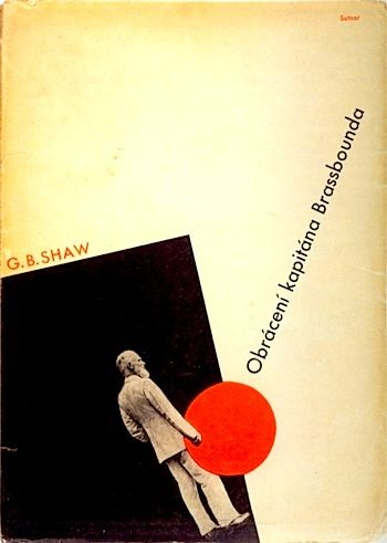 Czech book cover — G.B. Shaw
