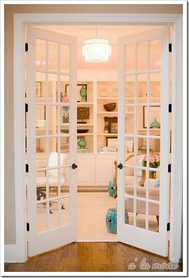 Love the french doors